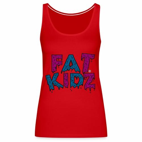 Fat Kidz - Premiumtanktopp dam