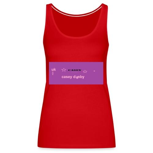 casey first merch :O - Women's Premium Tank Top