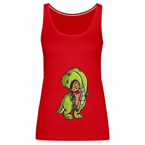 Dinosaurio vodoo - Camiseta de tirantes premium mujer