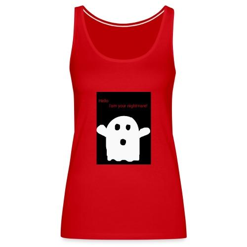Cute Ghost - Naisten premium hihaton toppi