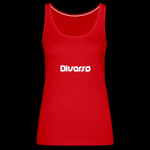 Diversø Merce - Canotta premium da donna