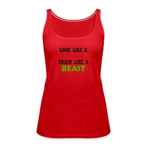 Beauty - Beast - Women's Premium Tank Top