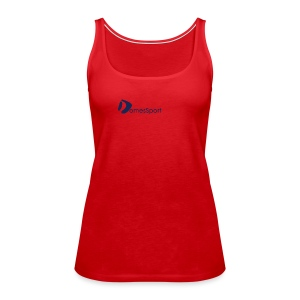 Logo DomesSport Blue noBg - Frauen Premium Tank Top