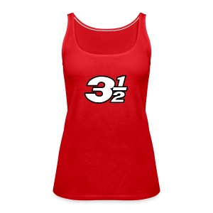 Three and a Half Logo - Women's Premium Tank Top