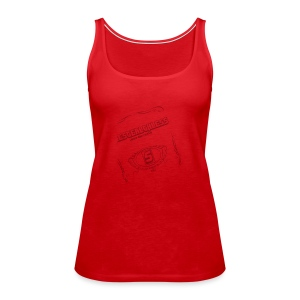 The Stealthless Game with Family Dark - Women's Premium Tank Top