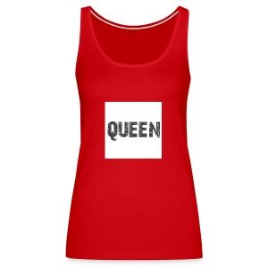 queen shirt - Vrouwen Premium tank top