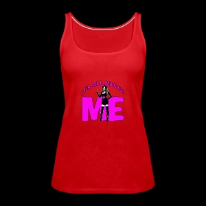 All About me Nurse Pink - Women's Premium Tank Top