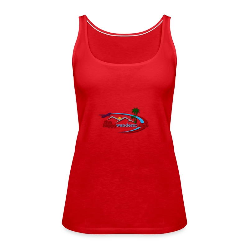 The Happy Wanderer Club Merchandise - Women's Premium Tank Top