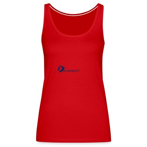 Logo DomesSport Blue noBg - Frauen Premium Tank Top