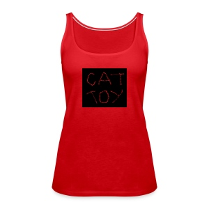 cat toy - Frauen Premium Tank Top