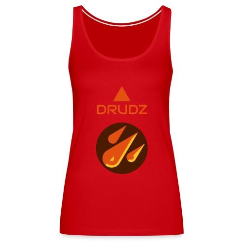 Drudz Standard - Premiumtanktopp dam