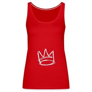 Couronne/crown - Débardeur Premium Femme