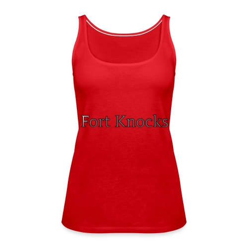 Fort Knocks Logo - Women's Premium Tank Top