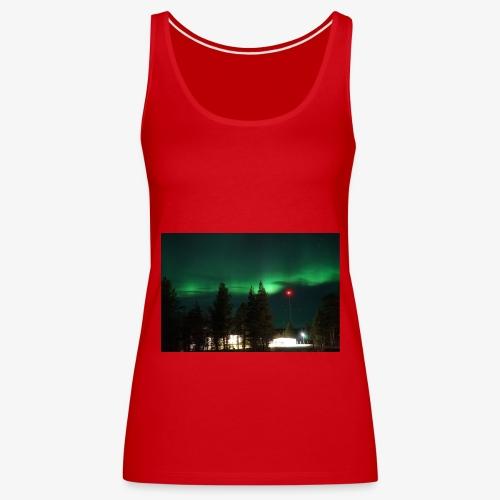 Aurora Boreale - Canotta premium da donna