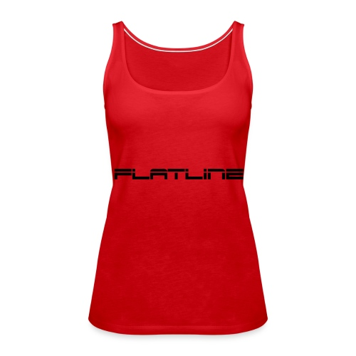 Liam Melly Presents Flatline - Women's Premium Tank Top