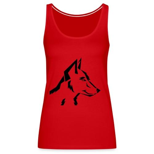 ArtDog WolfTribal - Frauen Premium Tank Top