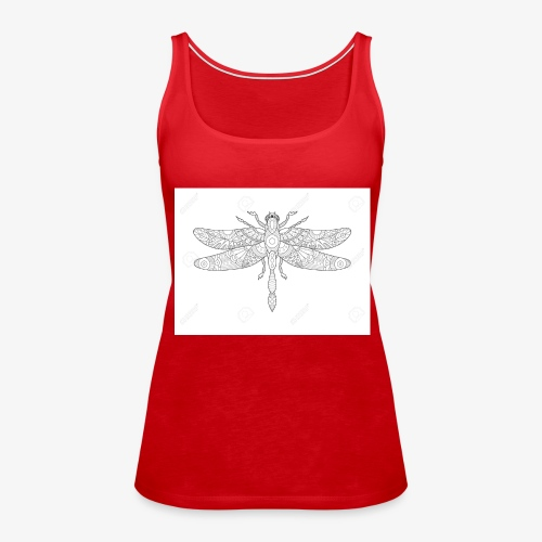 libelula - Camiseta de tirantes premium mujer