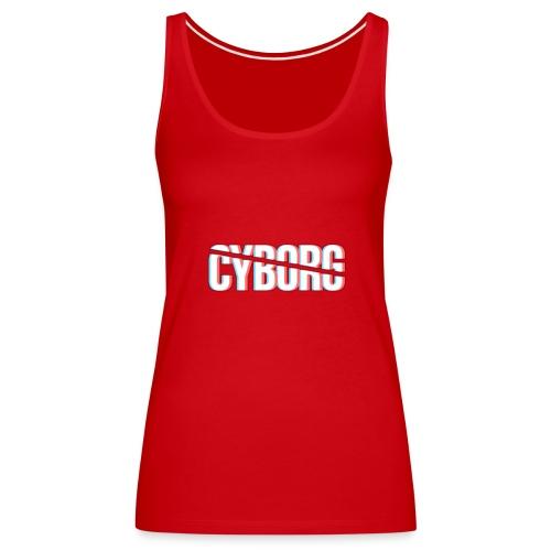 CYBORG_3D_BARRE - Débardeur Premium Femme