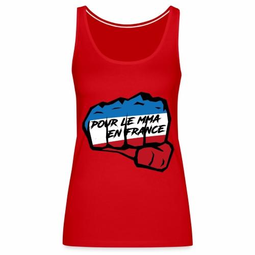 Fightness fist mma - Débardeur Premium Femme