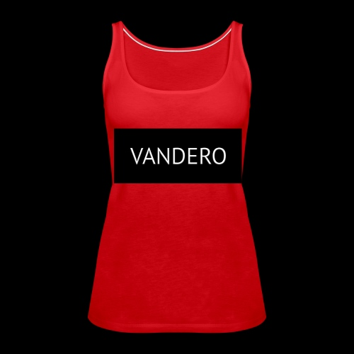 Line black vandero - Women's Premium Tank Top