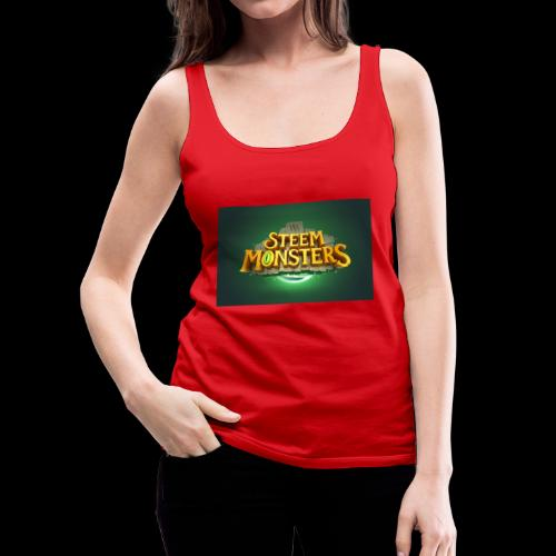 steem monsters - Frauen Premium Tank Top