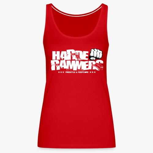 Harde Rammers Wit - Vrouwen Premium tank top