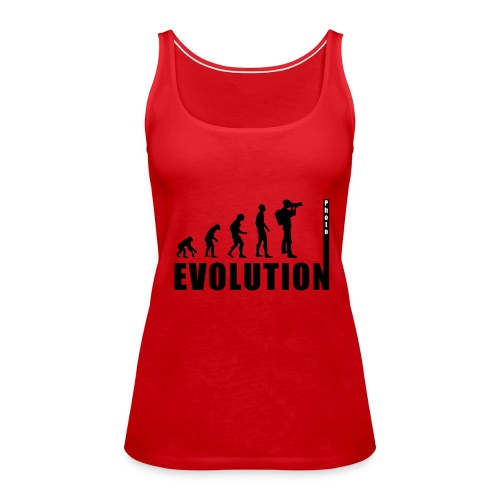 EVOLUTION PHOTOGRAPH - Frauen Premium Tank Top