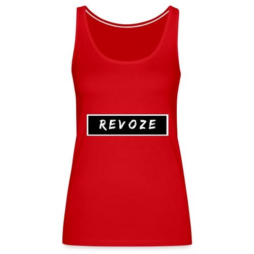 Standaard ReVoZe Merchandise - Vrouwen Premium tank top