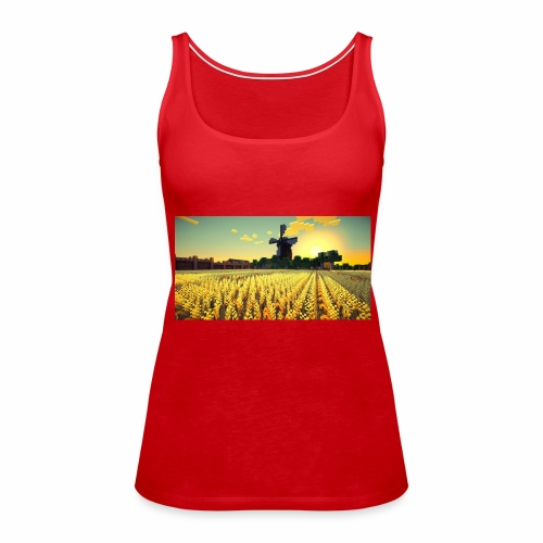 Minecraft Sport Equipment - Frauen Premium Tank Top