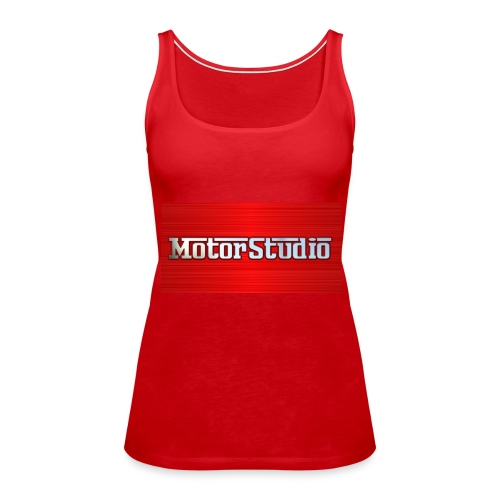 Motor Studio Design 1 - Women's Premium Tank Top