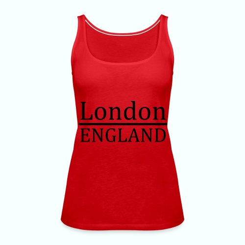 London England - Frauen Premium Tank Top