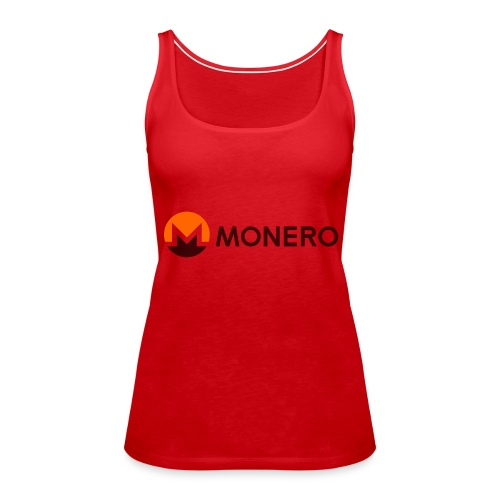 Monero logo - Frauen Premium Tank Top