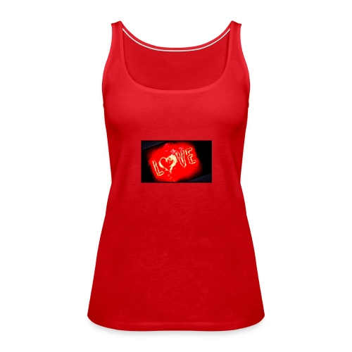 Love - Premium singlet for kvinner