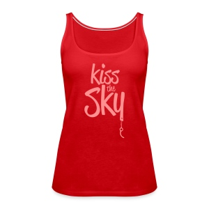 kiss the sky *2018* - Frauen Premium Tank Top