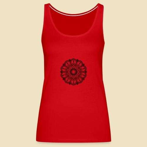 Mandala - Camiseta de tirantes premium mujer