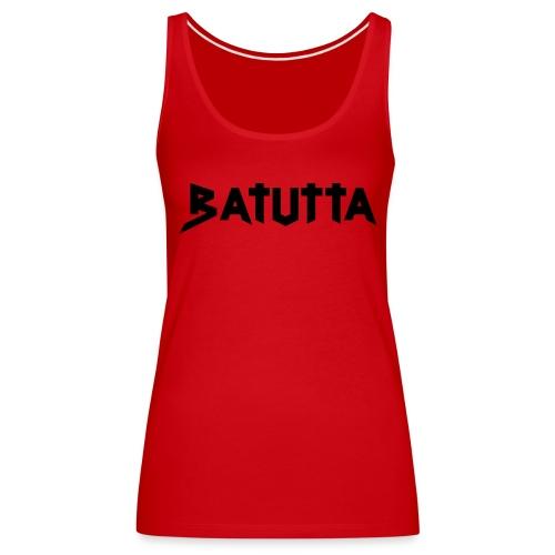 batutta logo - Frauen Premium Tank Top