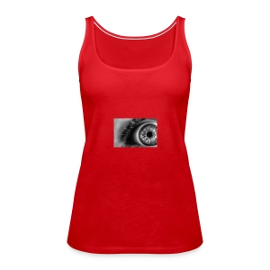 Crazy Eye - Frauen Premium Tank Top