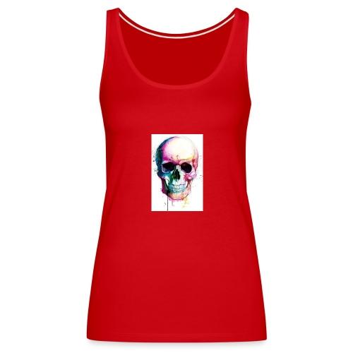 Skulls - Women's Premium Tank Top