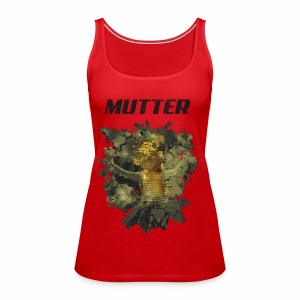 Mutter - Golden Grunge - Frauen Premium Tank Top