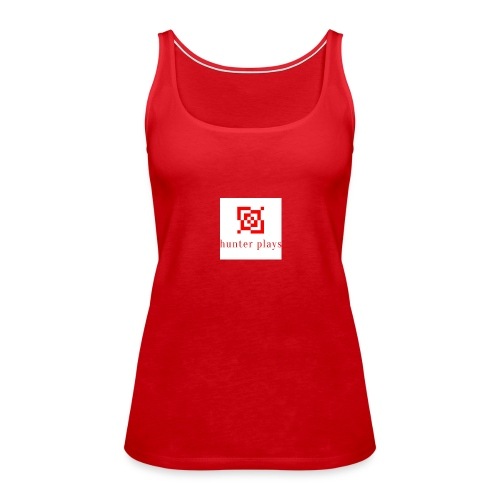 hunter plays - Women's Premium Tank Top