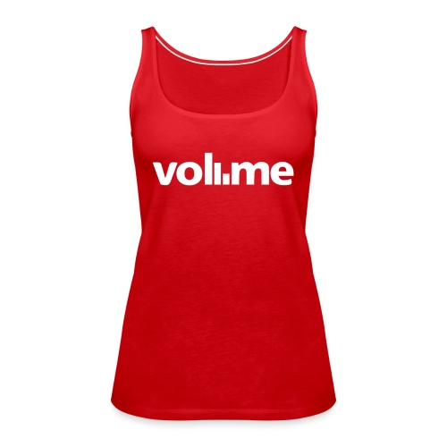 Coolest Volume Graphic Design White Rock it Dandy - Women's Premium Tank Top