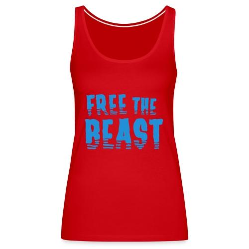 Free the Beast - Frauen Premium Tank Top