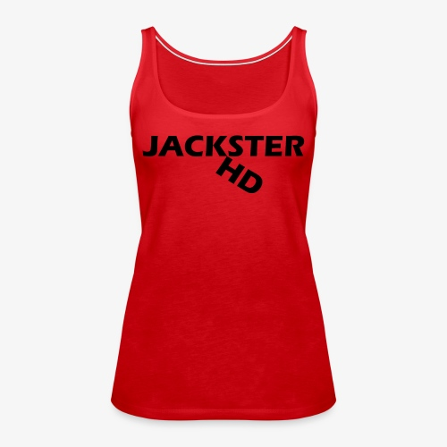 jacksterHD shirt design - Women's Premium Tank Top