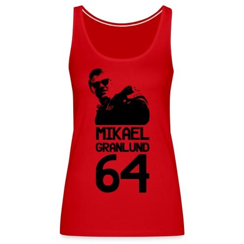 Mikael Granlund 64 - Naisten premium hihaton toppi