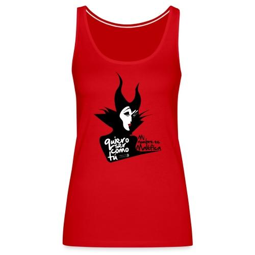 malefica - Camiseta de tirantes premium mujer