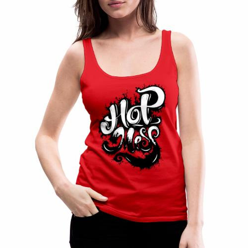 Hot Mess - Tattoo Urban Ink Graffitti - Dame Premium tanktop
