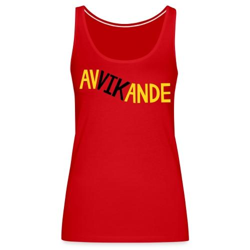 AVVIKANDE - Premiumtanktopp dam