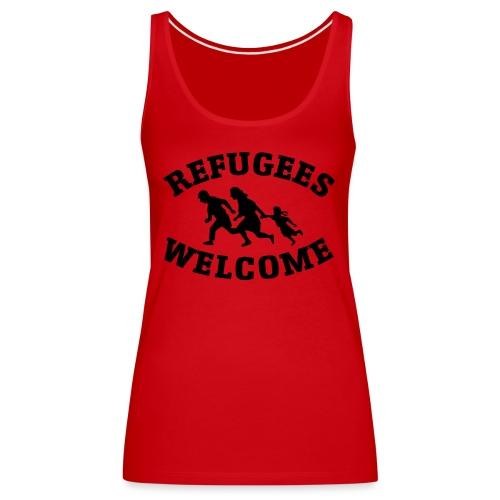 Refugees Welcome - Débardeur Premium Femme