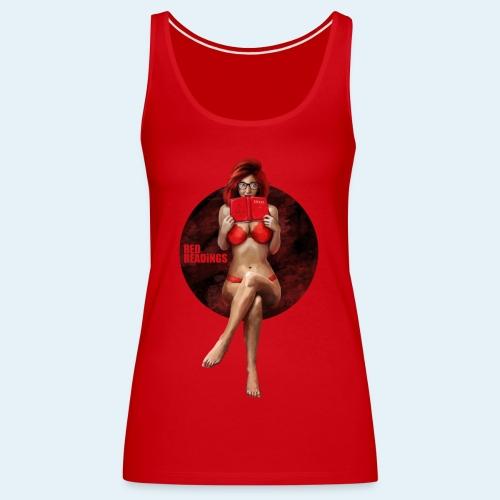 Red Readings - Camiseta de tirantes premium mujer