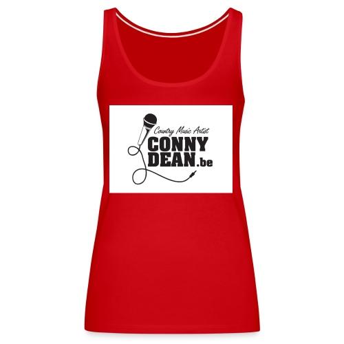 CONNY DEAN klever 45x45 001 - Vrouwen Premium tank top